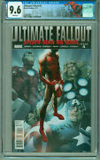 Ultimate Fallout 4 Cgc 9.6 1st Print And App Miles Morales Spiderman Nyc Label