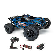 Rustler 4x4 Brushed Avec Accus / Chargeur Traxxas