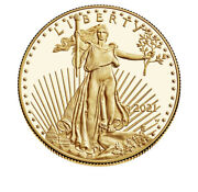 American Eagle 2021 One Ounce Gold Proof Coin 21eb In Hand