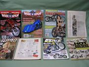 16 Assorted Motorcycle Magazines Choppers Customs Baggers Easyriders