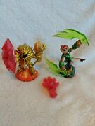 Skylanders Trap Team Characters - Tuff Luck Wildfire And Fire Scepter Fs Charity