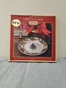 New Spode Christmas Tree 2018 Annual Collector Plate In Box Fs Benefits Charity