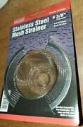 Lot Of 32 - Stainless Steel Standard Mesh Sink Strainers