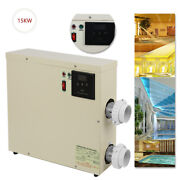 15kw 220v Swimming Pool And Spa Hot Tub Electric Water Heater Thermostat
