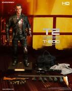 Enterbay Hd Masterpiece Terminator 2 - 1/4 Scale T-800 Figure Battle Damaged Edi