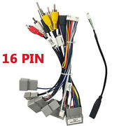 Car Stereo 16 Pin Wiring Harness Connector Adapter W/ Canbus Box For Honda Civic