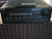 Sony Ta-f770es Integrated Stereo Amplifier 220v + Remote Control And Manual Rare