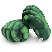 New Avengers - Hulk Hands Kid's Boxing Gloves Smash Fists Roleplay Costume Plush