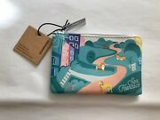 Starbucks Coffee Coin Purse San Francisco Cosmetic Pouch Gift/credit Card Holder