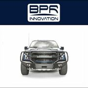 Fab Fours For 17-18 Ford F-150 Premium Winch Full Guard Bumpers - Ff17-h4350-1