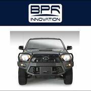 Fab Fours For 12-15 Toyota Tacoma Premium Winch Full Guard Bumpers-tt12-b1650-1