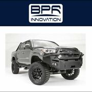 Fab Fours For 2016-2017 Toyota Tacoma Premium Winch Front Bumper - Tt16-b3652-1