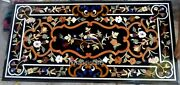 Marble Inlay Table Top With Vintage Art And Crafts Stone Restaurant Table Top