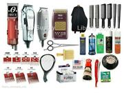 Barber Cosmetology Professional Hairstylist Kit Oster Andis Wahl All In 1