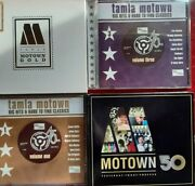 8 No, Tamla Motown Cds, Incl Motown 50 And Gold, Big Hits And Hard To Find Classics.