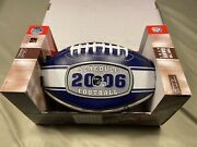 Baltimore Ravens 2006 Autographed Schedule Ball With 2 Rare Signatures.