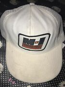 Magcobar Vintage M-1 Patch Trucker Snapback Hat Palmer Usa Made