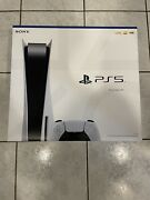 Sony Playstation 5 Ps5 Disc Console Brand New Read