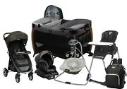 Monbebe Multi Combo Set Stroller Travel System With Car Seat Swing Chair Playard