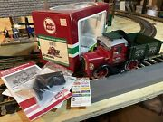 Lgb 21680 Christmas Rail Truck With Dcc And New Plow Read Description