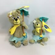 Hanna Barbera Collection Cindy Bear And Buttercup Set Of 2 Plush With Hang Tags