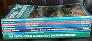 Lot Of 8 Ortho Gardening Softcover Books Home Gardenerand039s Problem Solver Flowers