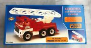Vintage 1980's Greek Toy Fire Truck By Lyra Wader West Germany New Nrfb