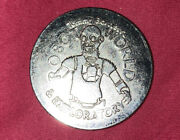 Robot World And Clown Tommy Bartlett's Thrill Show Token Coin Circulated Cond