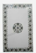 Abalone Shell Stone Inlaid Reception Table Top Luxurious Marble Coffee Table Top