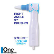 Dental Disposable Prophy Angles -tapered Brushes 500 Pcs