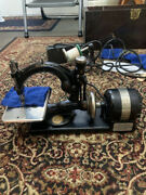 Antique Willcox And Gibbs Automatic Sewing Machine