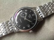 Zenith Men's Elite Automatic Stainless Steel Watch And Bracelet.