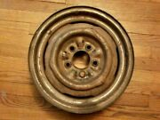 1953 - 1956 Gm Chevy Steel Wheel 15x5 Rim Belair 210 150 Nomad Corvette Original