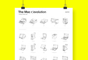 Mac R/evolution Poster. A Tribute To Steve Jobs