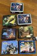 Star Wars Smaller Lunchboxes Lot Of 7