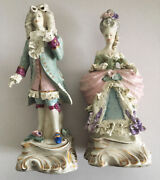 Collectibles - Beautiful - Lady And Man - Antiques