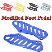 Modified Cnc Motorcycle Scooter Foot Stand Foot Peg Bracket