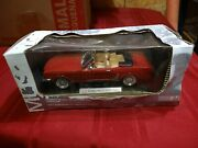 Die-cast Zinc Alloy 124 Scale And03965 Ford Mustang Red New In Box. Trunkanddoors Open