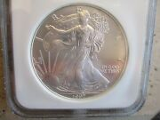 1997 American Silver Eagle Ngc Ms69 First Strikes