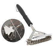 Bbq Grill Brush Barbecue Grilling Scraper Weber Cleaner Tools Accessories