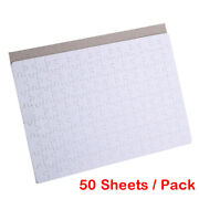 50 Sheets Blank Sublimation Printable Jigsaw Puzzle For Heat Presses Transfer