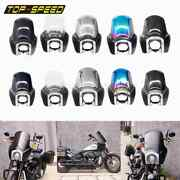 Motorcycle 5.75 Headlight Fairing Front Mask Cowl For Harley Softail T-sport 18