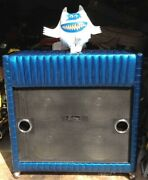 Kustom Organ 1960and039s Blue Sparkle Finish No Issues/ Works Great