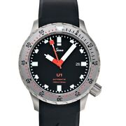 Sinn Diving Watches 1010.030-silicone-lfc-blk Black Dial Menand039s Watch Genuine