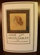 L. M. Montgomery Anne Of Green Gables First Edition 20th Impression 1910