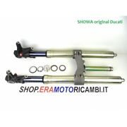 Showa Pair Stems Fork Front With Plate Oem Ducati 1198 Superbike 2010