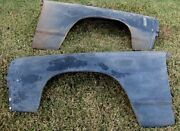 Nos 1971 1972 El Camino Chevelle Station Wagon Front Fenders Gm 325039 325040
