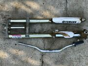 2006 06 Yamaha Yz250f Yz 250f Yz 250 Forks Front End Suspension Triple Clamp Bar