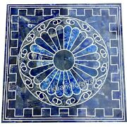 Lapis Lazuli Stone Decent Pattern Coffee Table Top Marble Island Table For Home