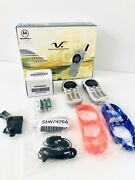 Motorola Model V2397 Complete 2 Digital Phones System Charger Working Perfectly